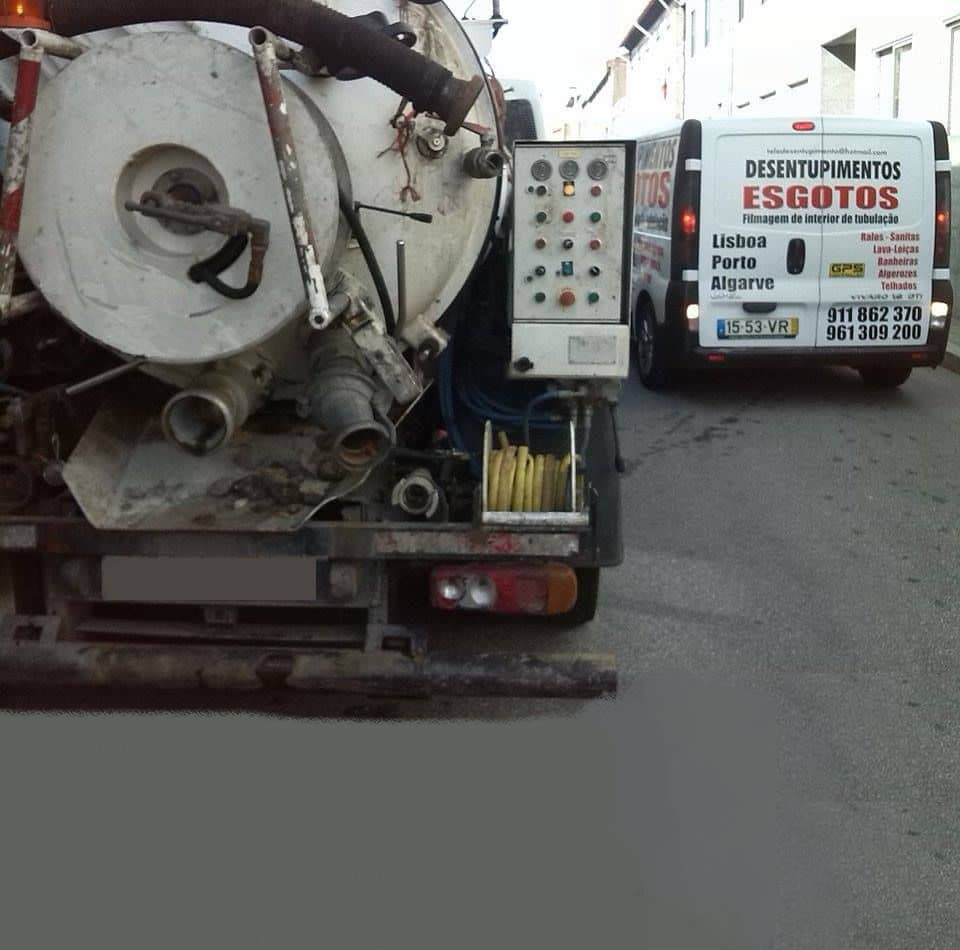 desentupimentos urgentes Samora Correia